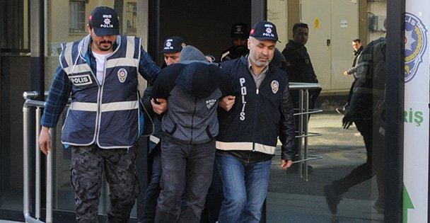 Gebze'de hırsızlık iddasıyla 3 kişi tutuklandı