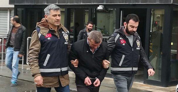 Gebze'de hırsızlık yapan zanlı tutuklandı