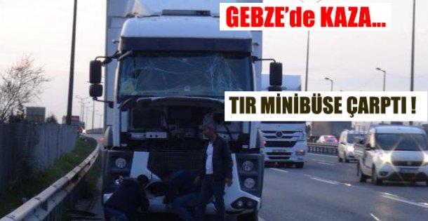 Gebze'de Kaza !
