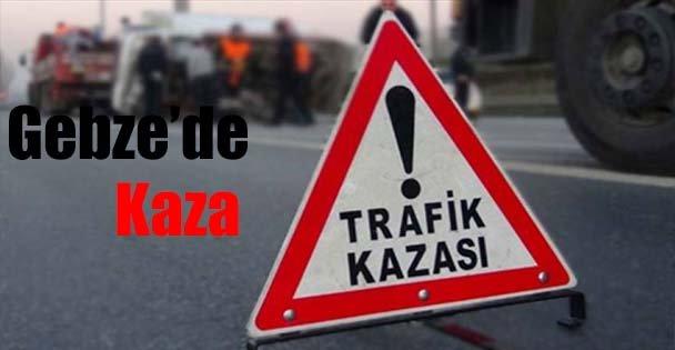Gebze'de Kaza