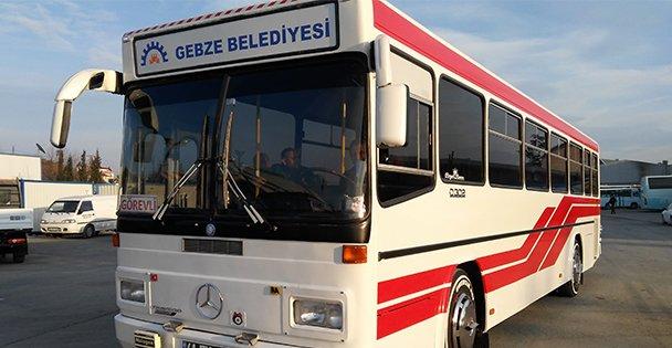 Gebze'de Kurban Pazarına Ücretsiz Ulaşım
