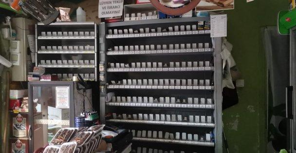 Gebze'de marketten sigara hırsızlığı