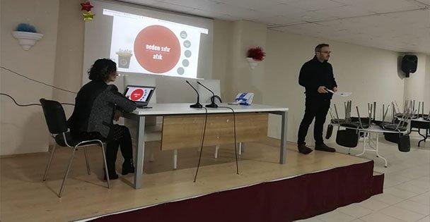 Gebze'de sıfır atık eğitimi