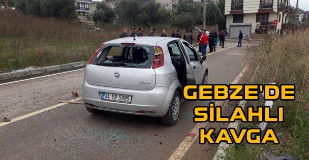 Gebze'de silahlı kavga: 4 yaralı