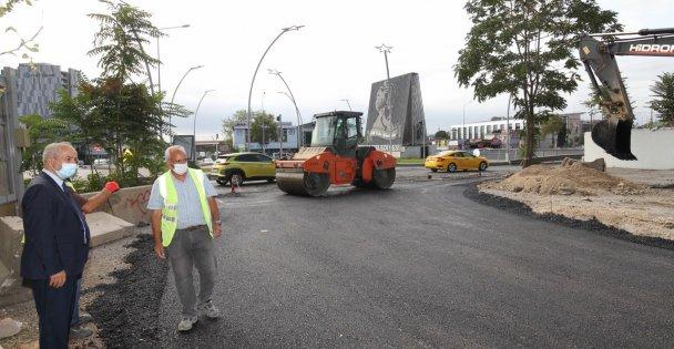 Gebze'de trafiği rahatlatacak çalışmalar