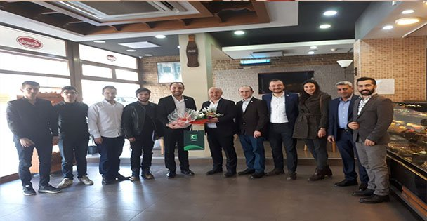 Yeşilay Gebze'den Muzaffer Bıyık'a Ziyaret