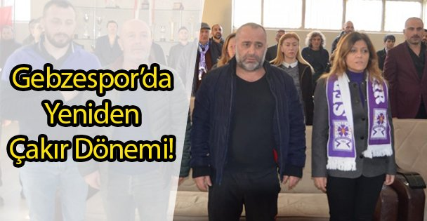 Gebzespor'da Yeniden Çakır Dönemi!