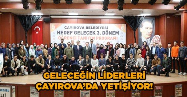 Geleceğin liderleri Çayırova'da yetişiyor!