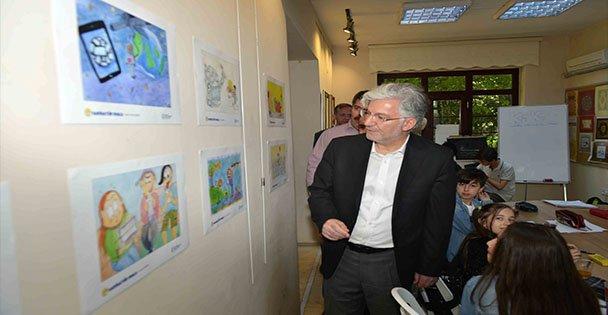 Genç Karikatüristlerin eserleri beğeni topladı