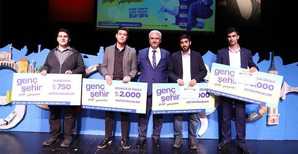 Genç Şehir Proje Ödülleri Sahiplerini Buldu