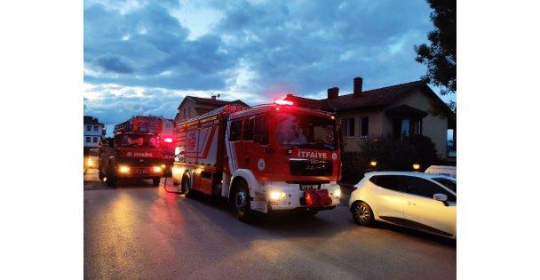 Gölcük'te ev yangını