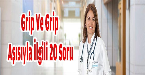 Grip Ve Grip Aşısıyla İlgili 20 Soru