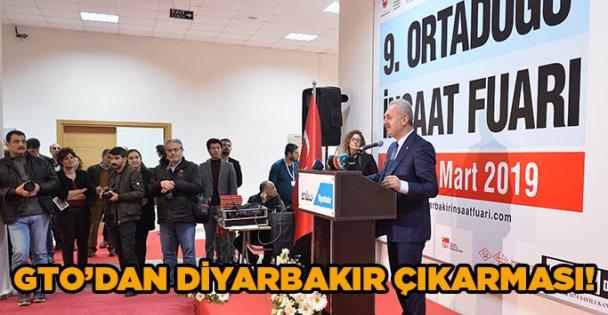 GTO'dan Diyarbakır çıkarması!