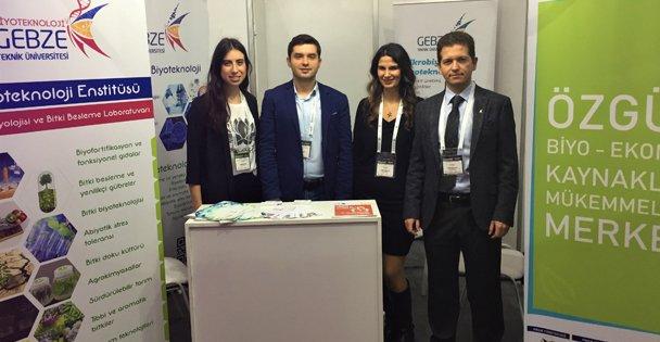 GTÜ Biyoteknoloji Enstitüsü, Tarım Fuarına Katıldı