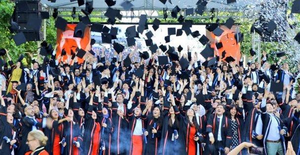 GTÜ'de mezuniyet heyecanı