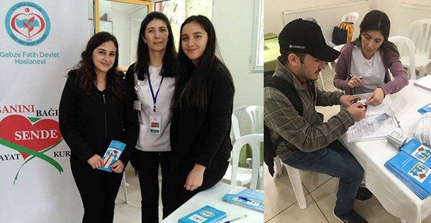 GTÜ'de Organ Bağışı Standı Açtı