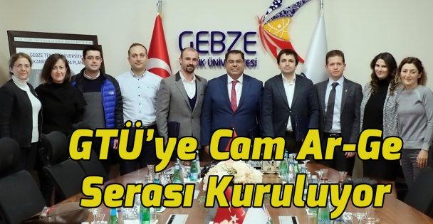 GTÜ'ye Cam Ar-Ge  Serası Kuruluyor