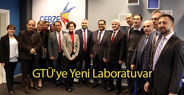 GTÜ'ye Yeni Laboratuvar