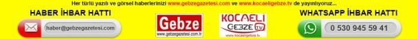 Haberlerinizi haber@gebzegazetesi.com a gönderin, yayınlayalım