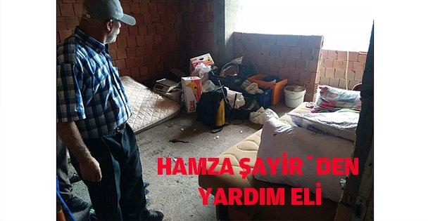 Hamza Şayir'den Yardım Eli