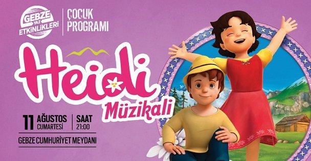 Heidi, Gebze'de Çocuklarla Buluşuyor