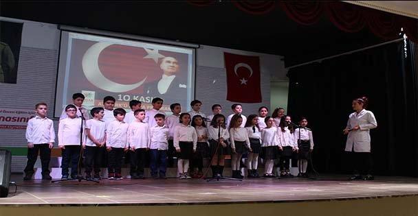 Hisar Eğitim Kurumları Atatürk'ü Saygıyla Andı.