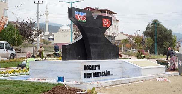 Hocalı Anıtı tamamlandı