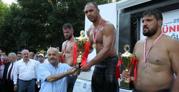 Hünkar Çayırı'nda Şampiyon Ali Gürbüz