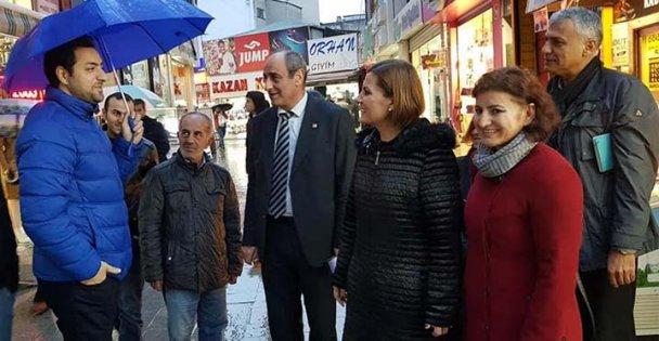 Hürriyet Gebze'de temaslarda bulundu