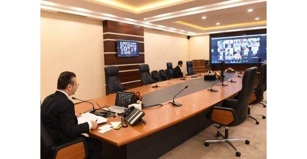 İl Pandemi Kurulu 3. Toplantısı gerçekleştirildi