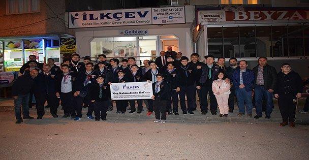 İLKÇEV İzcileri, Çanakkale'ye Uğurlandı