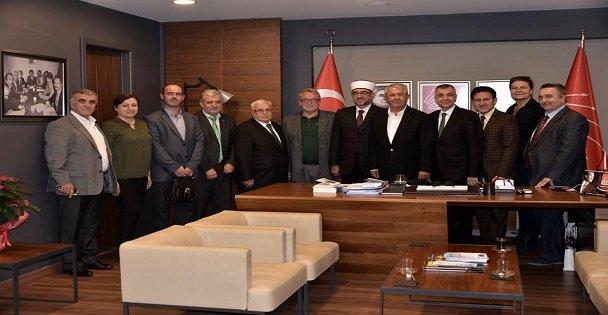 İskeçe Müftüsü CHP'yi ziyaret etti