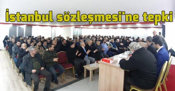 İstanbul sözleşmesi'ne tepki