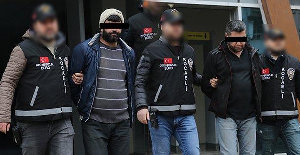 İstanbul'da çalıp Kocaeli'de satmaya çalıştılar
