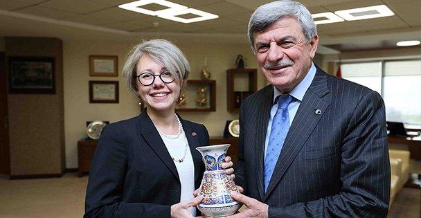 İsveç'in İstanbul Başkonsolosu Hyden Kocaeli'de