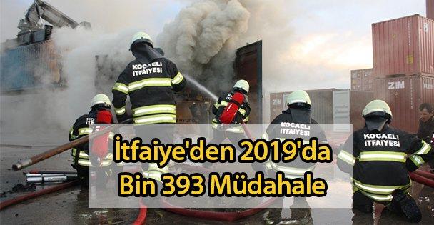 İtfaiye'den 2019'da Bin 393 Müdahale