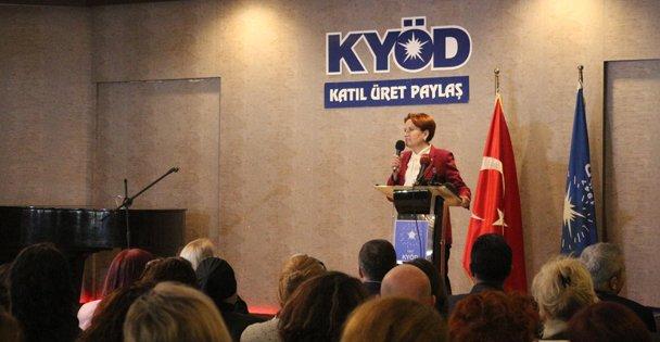 İYİ Parti Genel Başkanı Meral Akşener, Kocaeli'nde