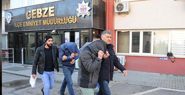 Gebze'de Kablo hırsızlığı yapan 2 kişi tutuklu