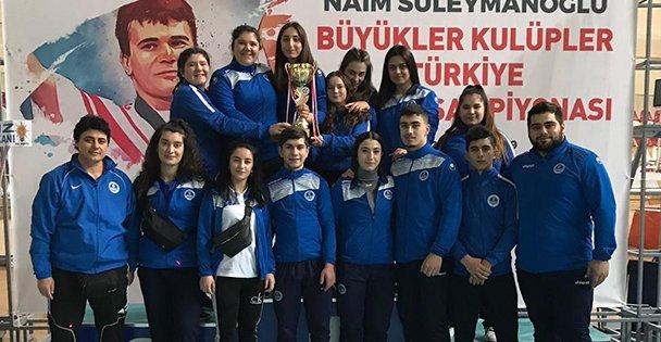 Kağıtsporlu Halterciler Türkiye İkincisi