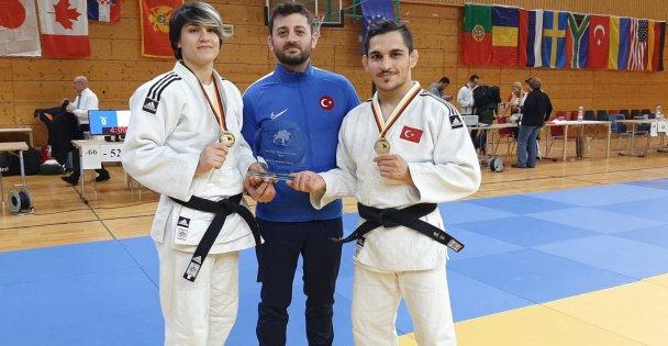 Kağıtspor'lu judocular turnuvaya damga vurdu