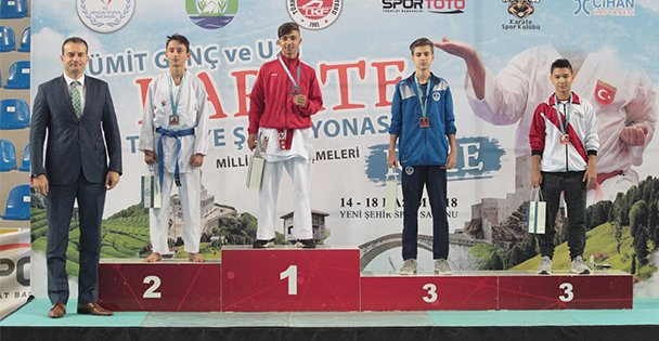 Karateciler Avrupa yolcusu