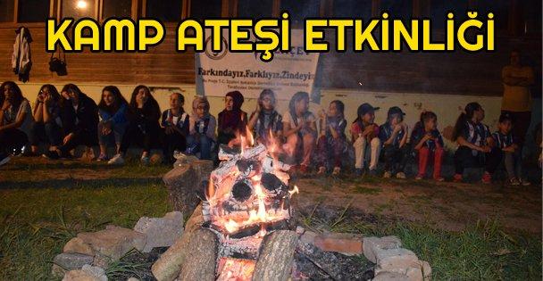 Kamp Ateşi Etkinliği Düzenledi