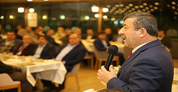 Karabacak ,dernek başkanlarını ağırladı