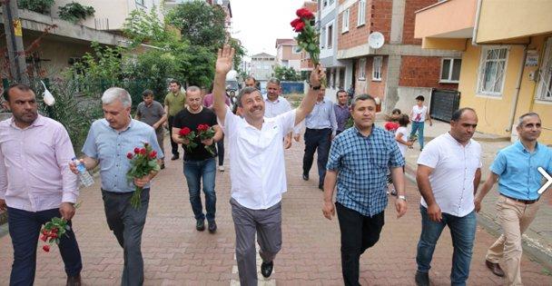 Karabacak, Kazım Karabekir Mahallesi'ni Ziyaret Etti