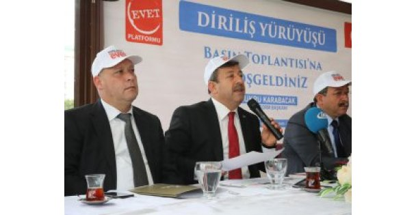 Karabacak, Referandum çalışmalarını değerlendirdi