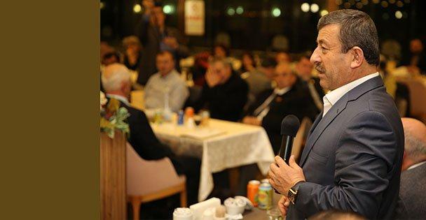 Karabacak STK Başkanlarıyla Bir Araya Geldi