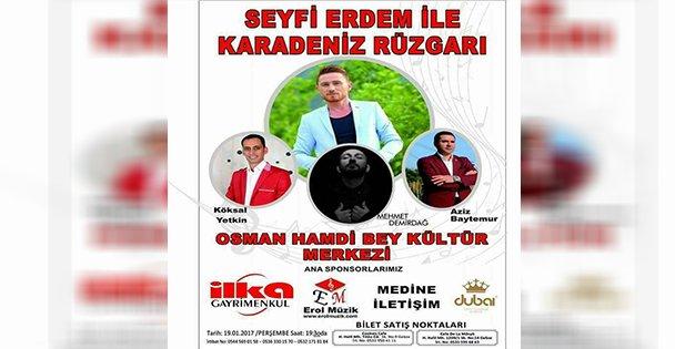 Karadeniz müziğine doyacağız!
