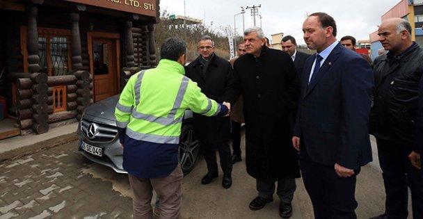 Karaosmanoğlu Kesrestecileri Ziyaret Etti