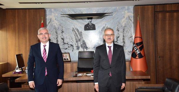 Karayolları Genel Müdürü Uraloğlu'na ziyaret