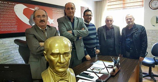 Kargalı İlköğretim Okuluna Atatürk büstü